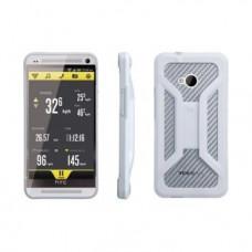 Чехол для телефона с креплением на велосипед TOPEAK, для new HTC One, белый, TT9837W
