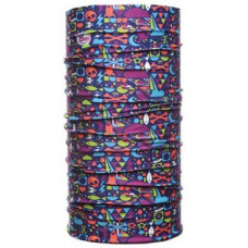 Велобандана BUFF TUBULAR UV BUFF KIDS NEON SPACE, б/р:one size, 811503.00