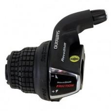 Шифтер для велосипеда Shimano Tourney RS35, левый, 3(SIS)скорости, трос 1800мм, ASLRS35LSBT