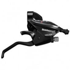 Шифтер велосипедный с тормозной ручкой Shimano Tourney EF510,  правый, 7 скоростей, ESTEF5102RV7AL