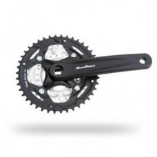Система велосипедная SUNRACE FCM63 под квадрат, 22/32/42Тх170мм, алюминий, 8 скоростей, FCM63