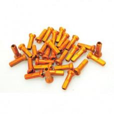 Ниппель Sapim Aluminium Polyax (Цвет Orange, GAP1401400J SAPCPA23)