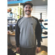 Свитер TBC Crewneck Sweatshirt (Style: Premium Tag, Color: Black/Grey, Size: