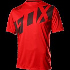 Велофутболка Fox Ranger SS, красно-черный