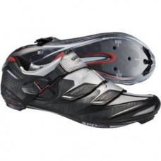 Велотуфли SH-R241L, размер 43 черный/серебристый ESHR241C430L