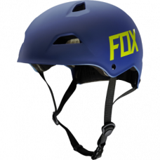 Велошлем Fox Flight Hardshell Helmet, матовый синий