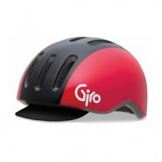 Велошлем Giro REVERB black/red retro 300г, M(55-59см) черно-красный GI7055827