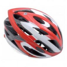 Велошлем спортивный AUTHOR Fleet INMOLD 081 Red (58-62см) красно-белый 8-9001091