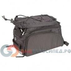 Велосумка на багажник AUTHOR CarryMore LitePack20, с плечевым ремнем, V=20л, черная, 8-15000097