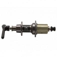 Втулка задняя NOVATEC  F292CB кассетная, ШОССЕ, 24Н, ось CrMo М10х140мм, 296г, F292CB(24)