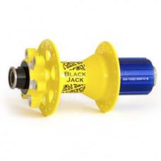 Втулка задняя Colt Bikes Black Jack, 135x10 thru, 32H, желтый, CB-D882SB-10-A4A-14YEL