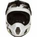 Велошлем Fox Rampage Comp Creo Helmet, бело-желтый